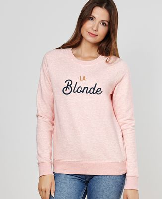 Sweatshirt femme La blonde