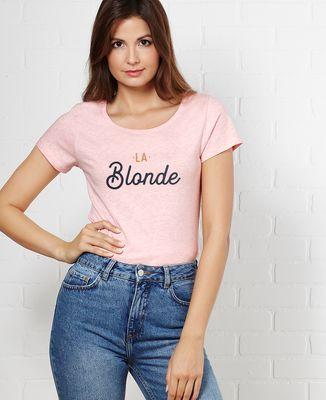 T-Shirt femme La blonde
