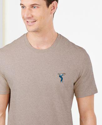 T-Shirt homme Pétanqueur (brodé)
