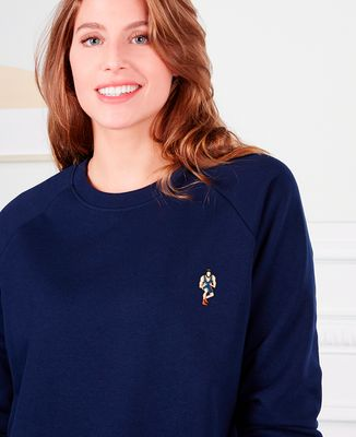 Sweatshirt femme Lutteur (brodé)
