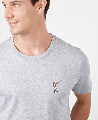 T-Shirt homme Lancer de marteau (brodé)