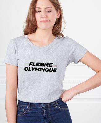 T-Shirt femme Flemme olympique
