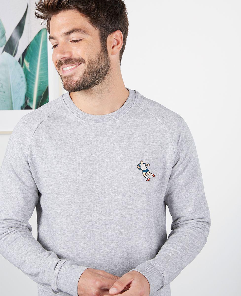 Sweatshirt homme Rugbyman (brodé)