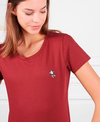T-Shirt femme Rugbyman (brodé)
