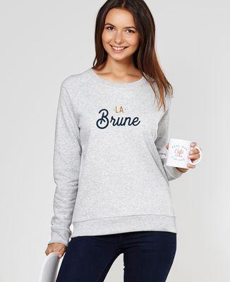 Sweatshirt femme La brune