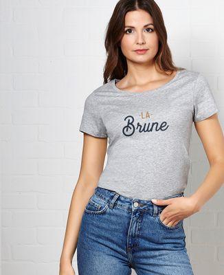 T-Shirt femme La brune