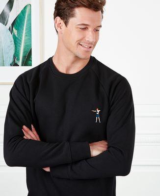 Sweatshirt homme Tir à l'arc (brodé)