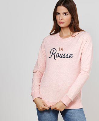 Sweatshirt femme La rousse