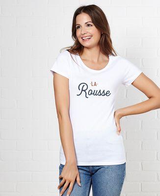 T-Shirt femme La rousse