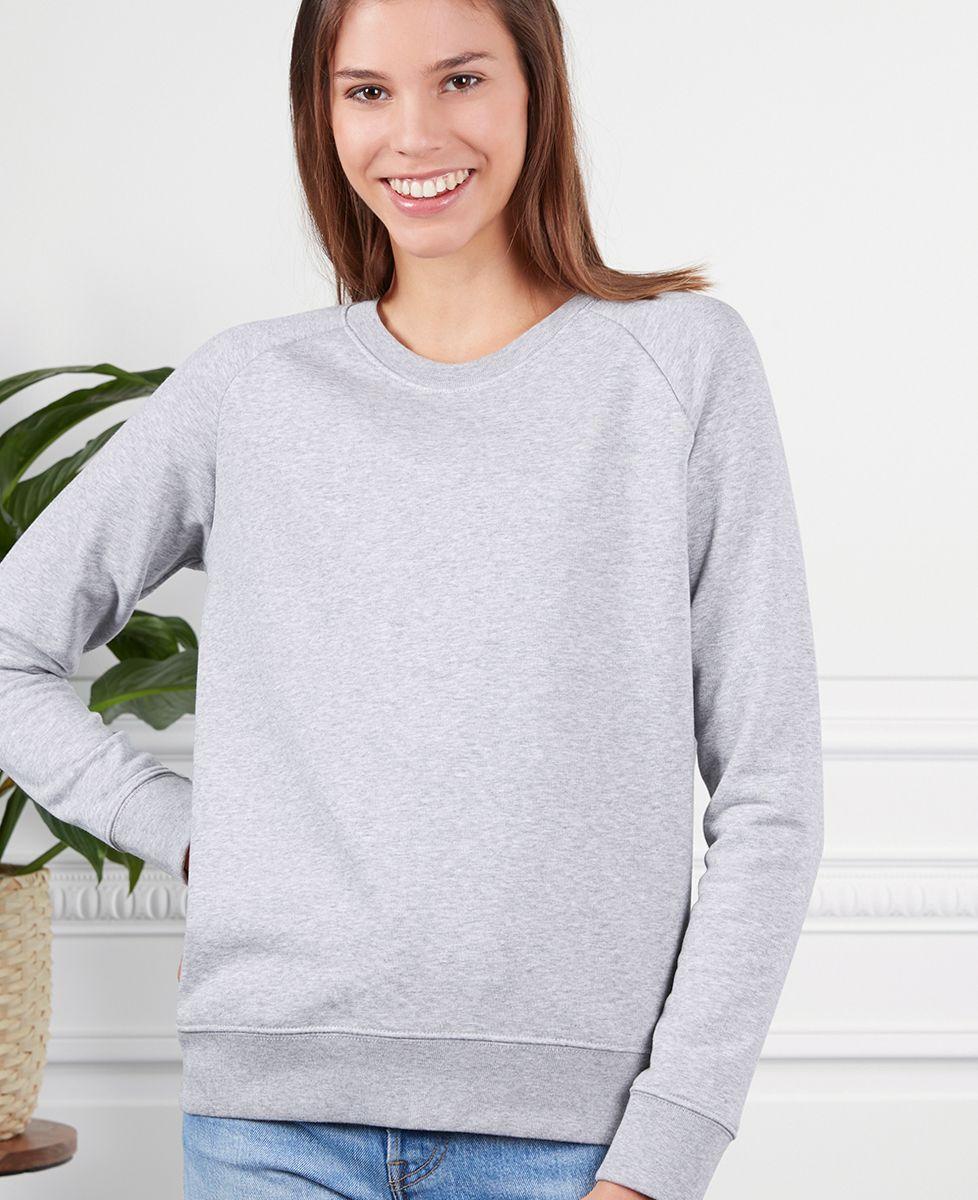 Sweatshirt femme Surf club palmier personnalisé