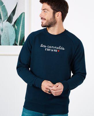 Sweatshirt homme C'est la vie personnalisé