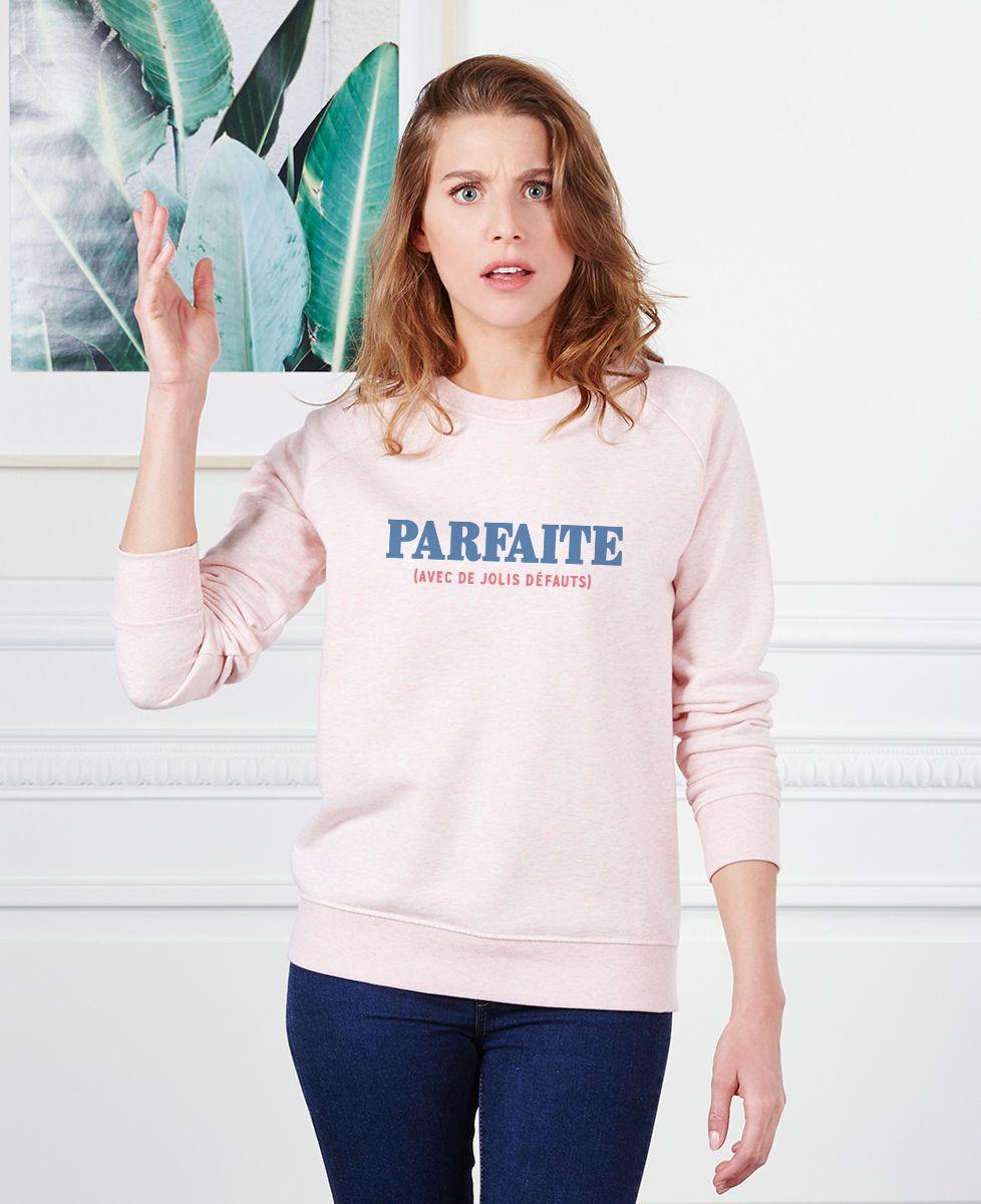 Sweatshirt femme Parfaite (avec de jolis défauts)