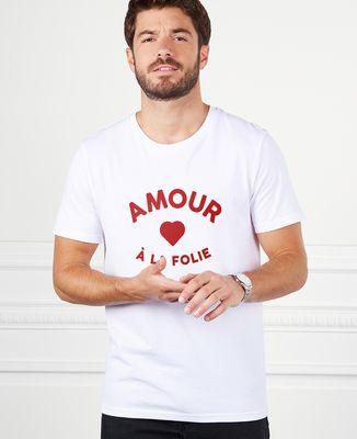 T-Shirt homme Amour à la folie