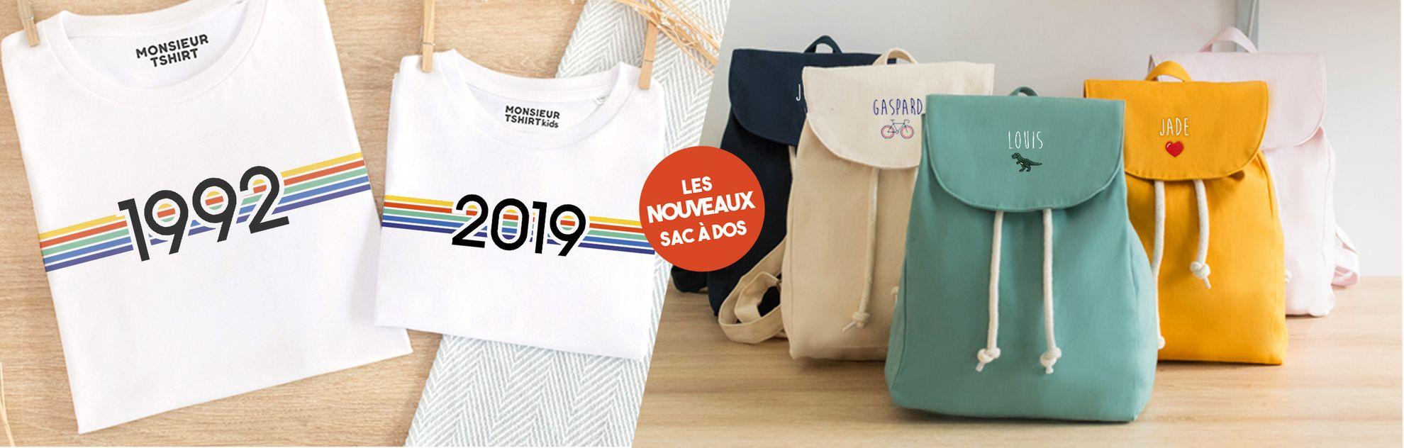 T-shirts enfant originaux et idées cadeaux de naissance