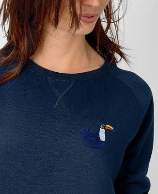 Sweatshirt femme Écusson Bouée Toucan