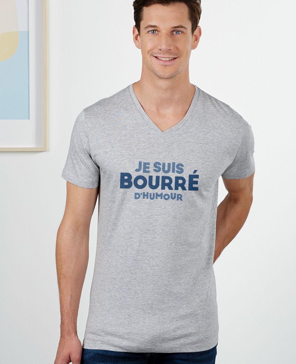 T-Shirt homme Je suis bourré d'humour