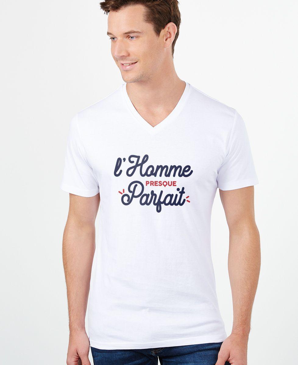T-Shirt homme L'homme presque parfait