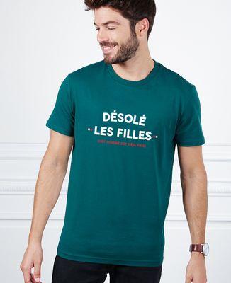 T-Shirt homme Désolé les filles (cet homme est déjà pris)