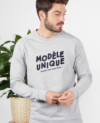 Sweatshirt homme Modèle unique