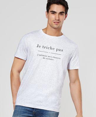 T-Shirt homme Je triche pas