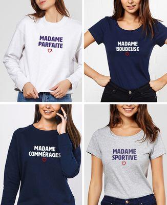 T-Shirt femme Madame personnalisé