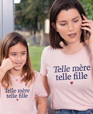 T-Shirt femme Telle mère telle fille
